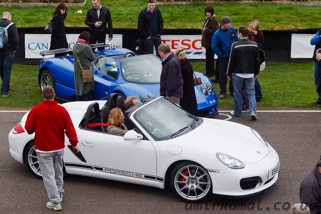 Porsche 911, Pagani Zonda