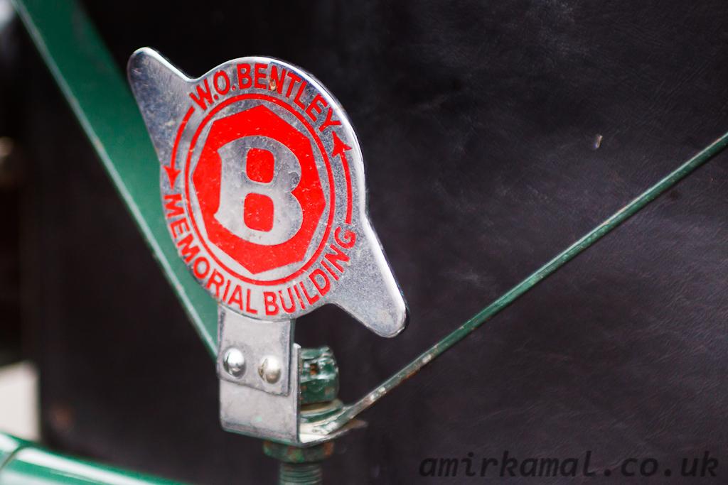 Bentley badge detail