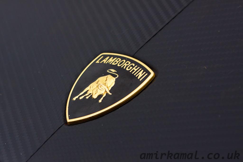 Lamborghini badge detail