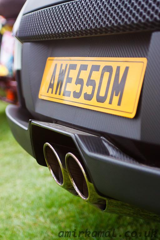 Lamborghini Murcielago, rear detail