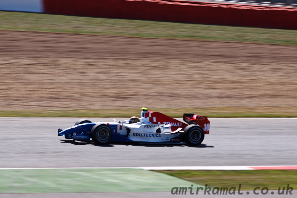 Friday, GP2 Qualifying