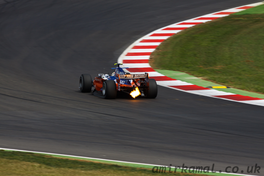 Saturday, GP2 Race 1