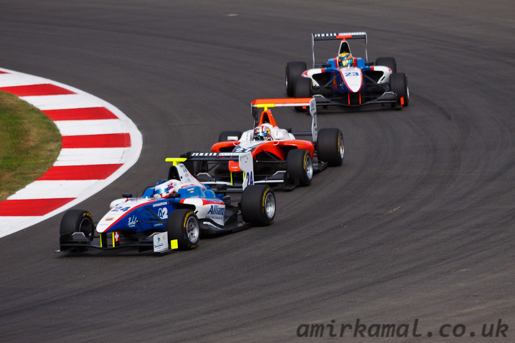 Saturday, GP3 Race 1