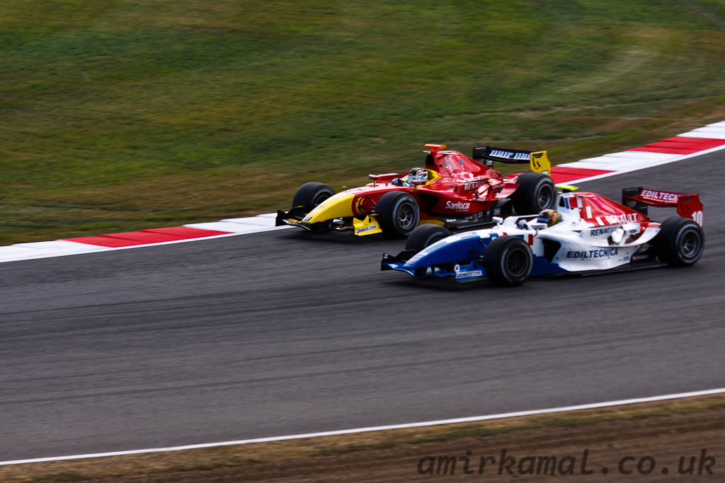 Sunday, GP2 Race 2