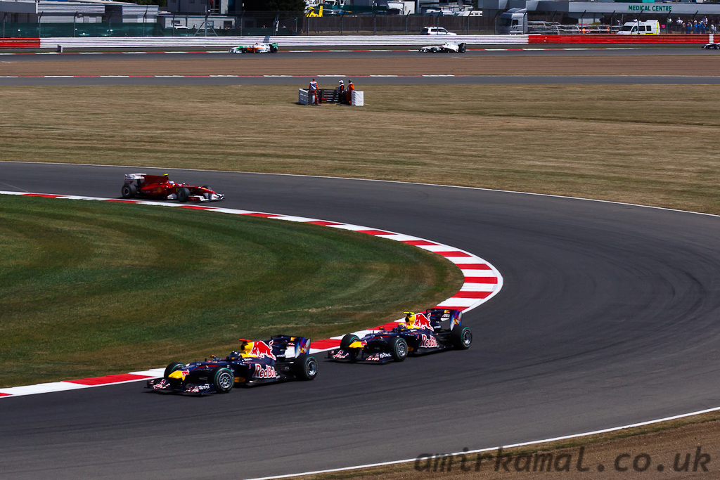 Sunday, Formula One Formation Lap