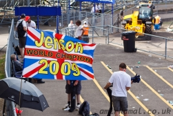 Very cheesey Jenson Button flag