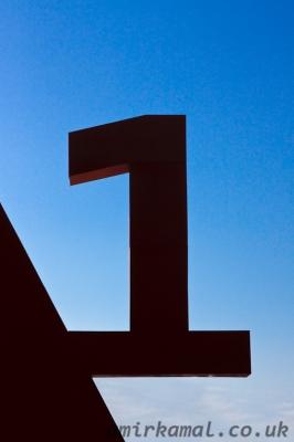 Audi A1 logo detail