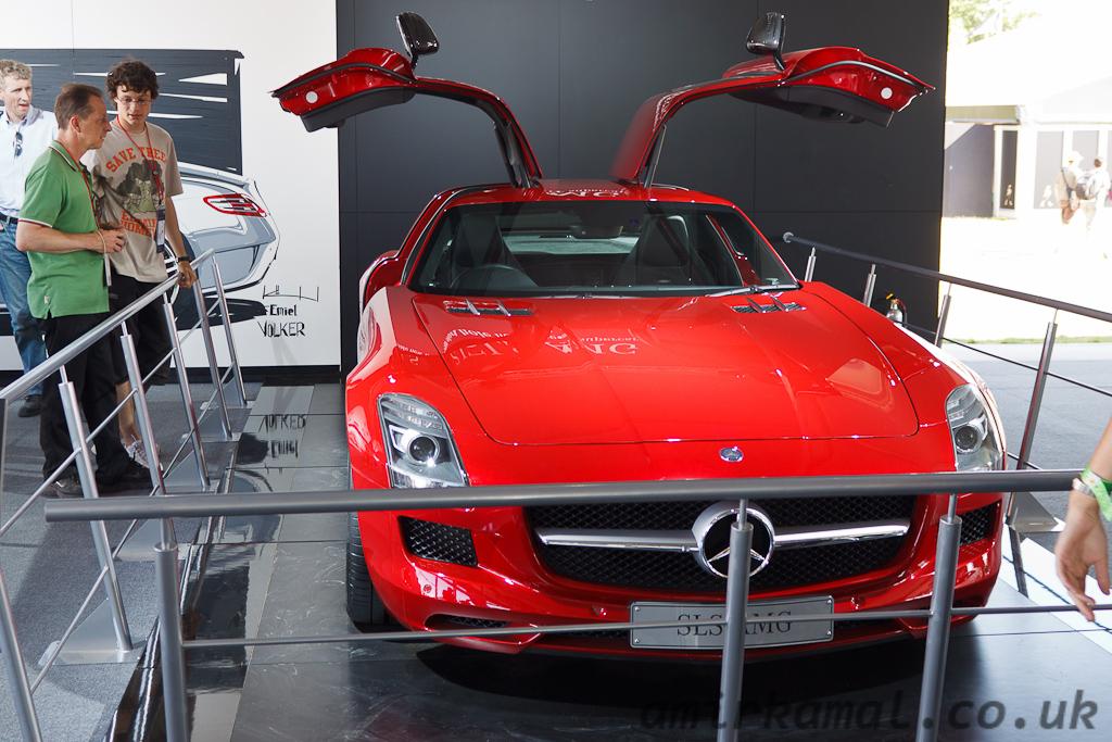 Mercedes SLS AMG, 2010