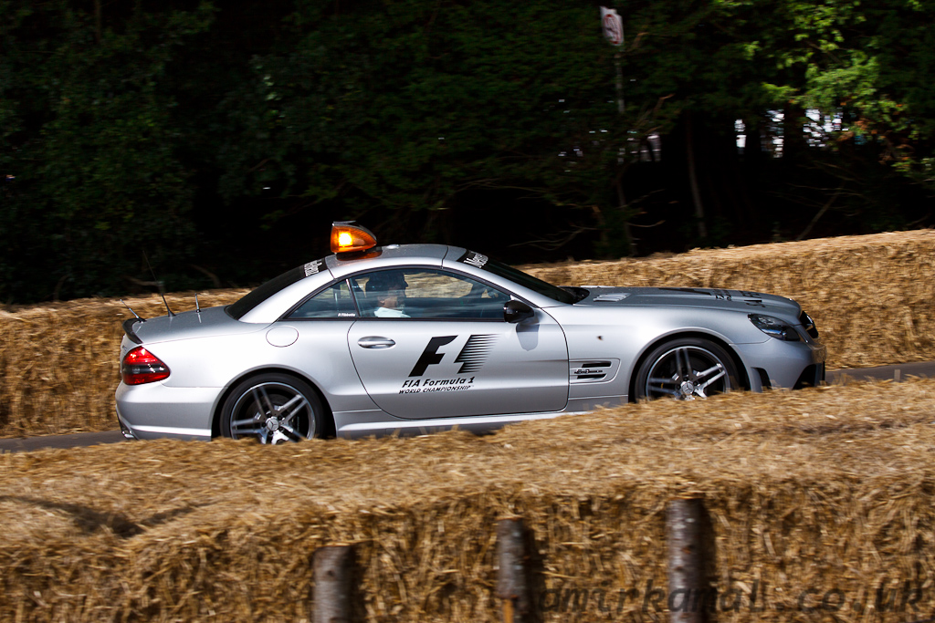 Mercedes SL55 AMG Course Car