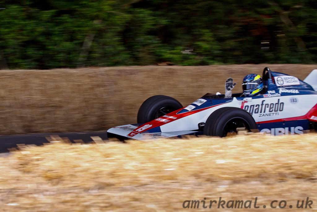 Toleman Hart TG183B, 1983