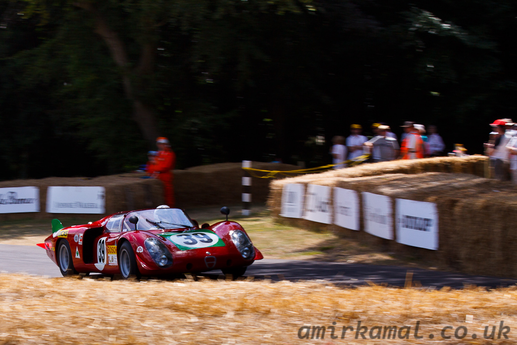 Alfa Romeo Tipo 33/2 Le Mans, 1968