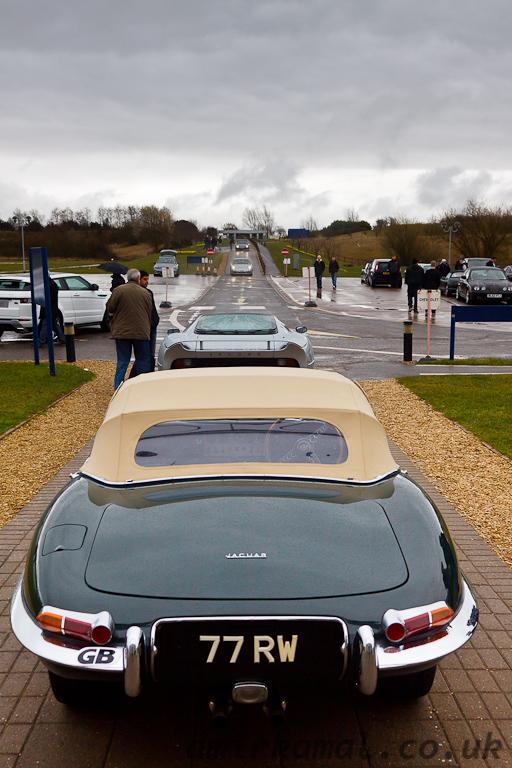 Jaguar E-Type and XJ220