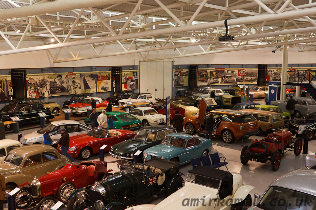 Eclectic collection at the Heritage Motor Centre