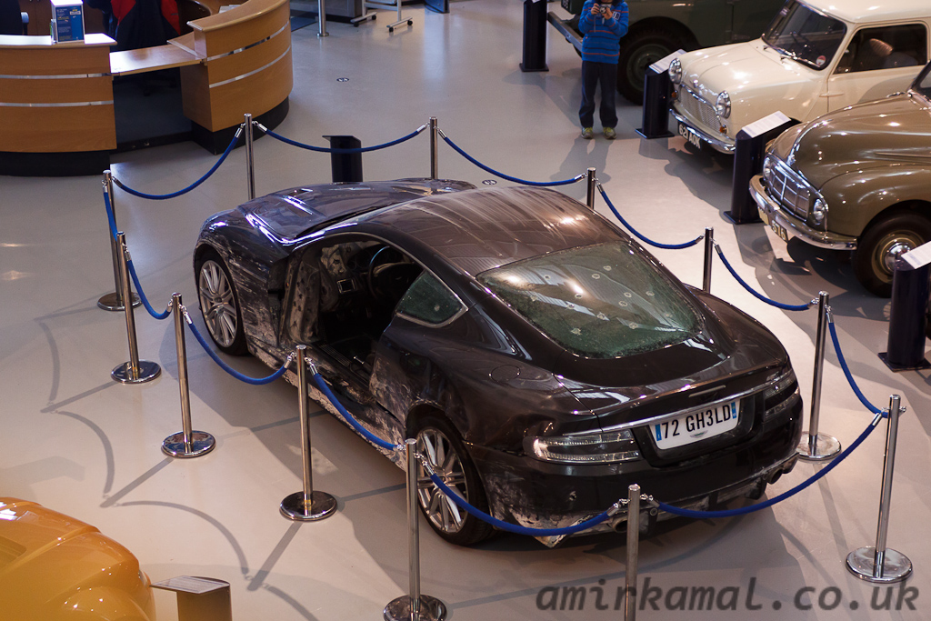 Aston Martin DBS James Bond stunt car