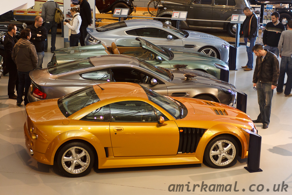 MGX Power SV and three Astons