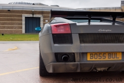 Very dirty Lamborghini Gallardo