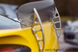 TVR Sagaris, rear wing detail