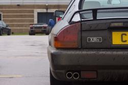 Jaguar XJRS, Gallardo in the background