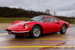 Very shiny Ferrari Dino