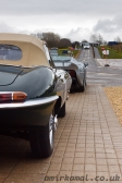 Jaguar E-Type and XJ220
