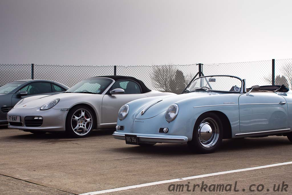Porsche Boxster and 356