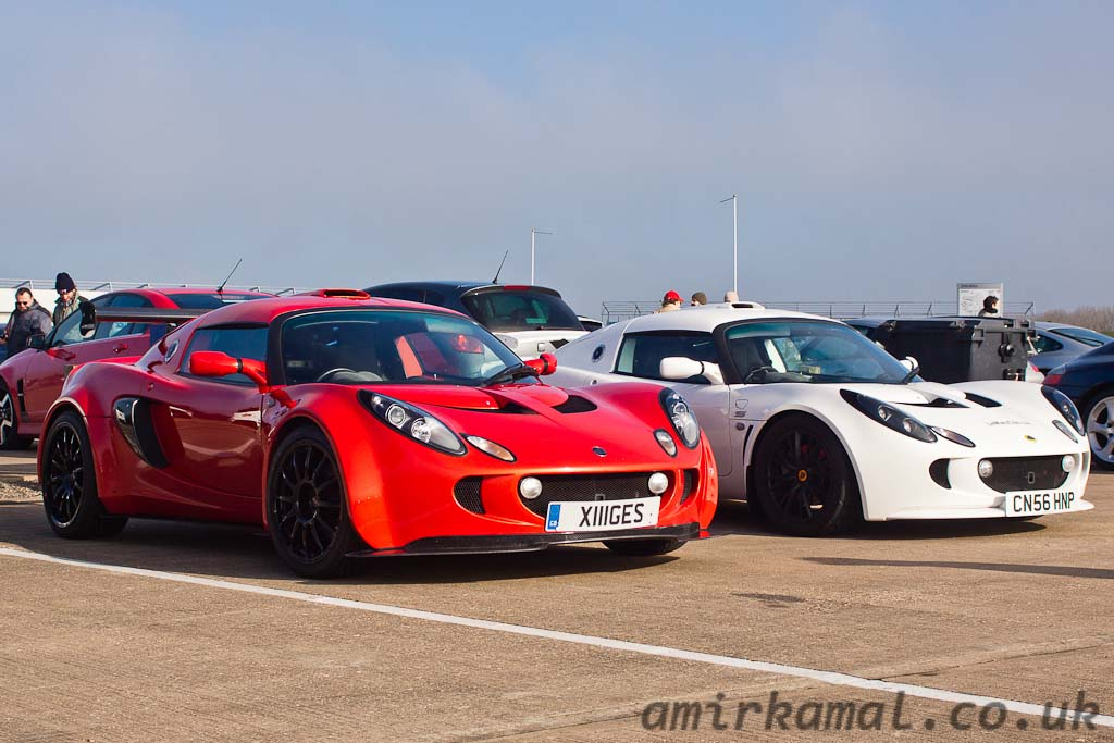 Pair of Lotus Exiges