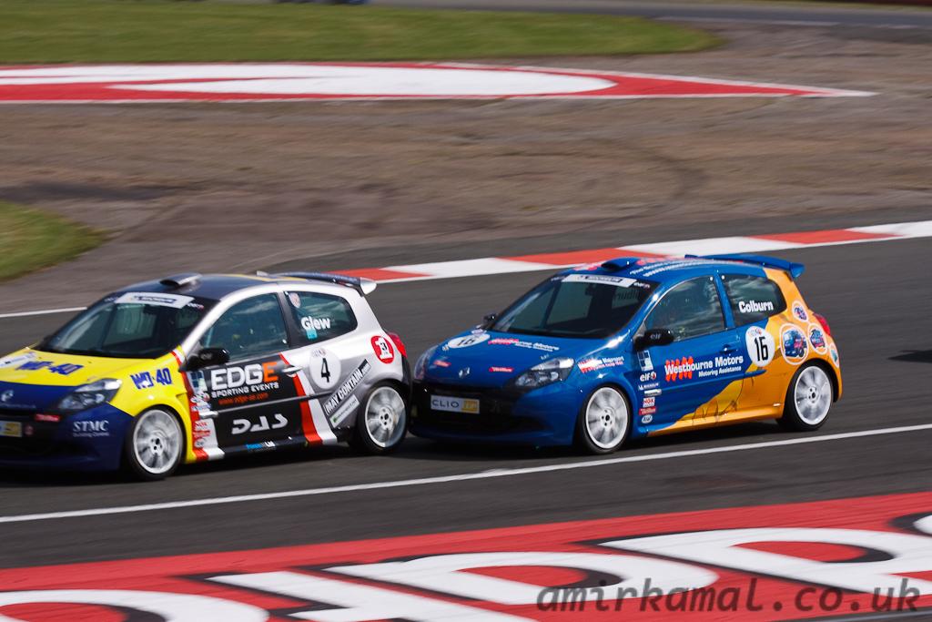Close racing...